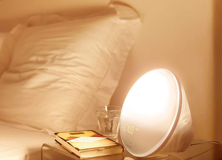 Philips - HF352001 - Eveil Lumière avec Lampe LED - Fonction Red Shift